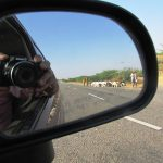 Specchio auto per controllare quello che accade